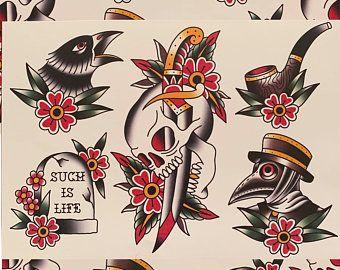 , Traditional Tattoo Artwork by WoodTattooCo, My Tattoo Blog 2020, My Tattoo Blog 2020