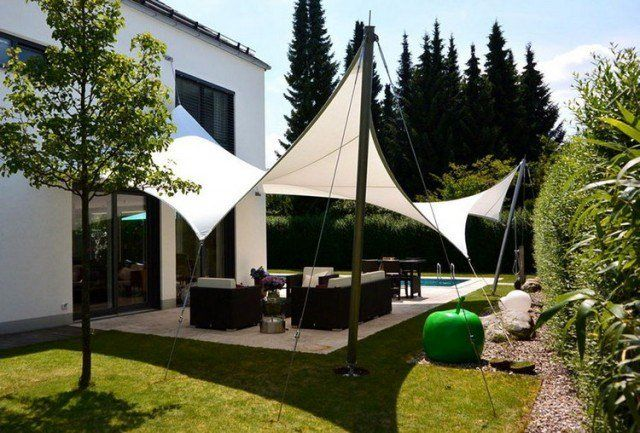 Protection solaire 55 idées pour la terrasse extérieur Side