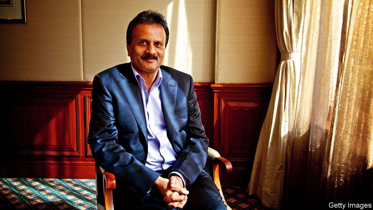V.G. Siddhartha, boss of Coffee Day, is found dead Cafe