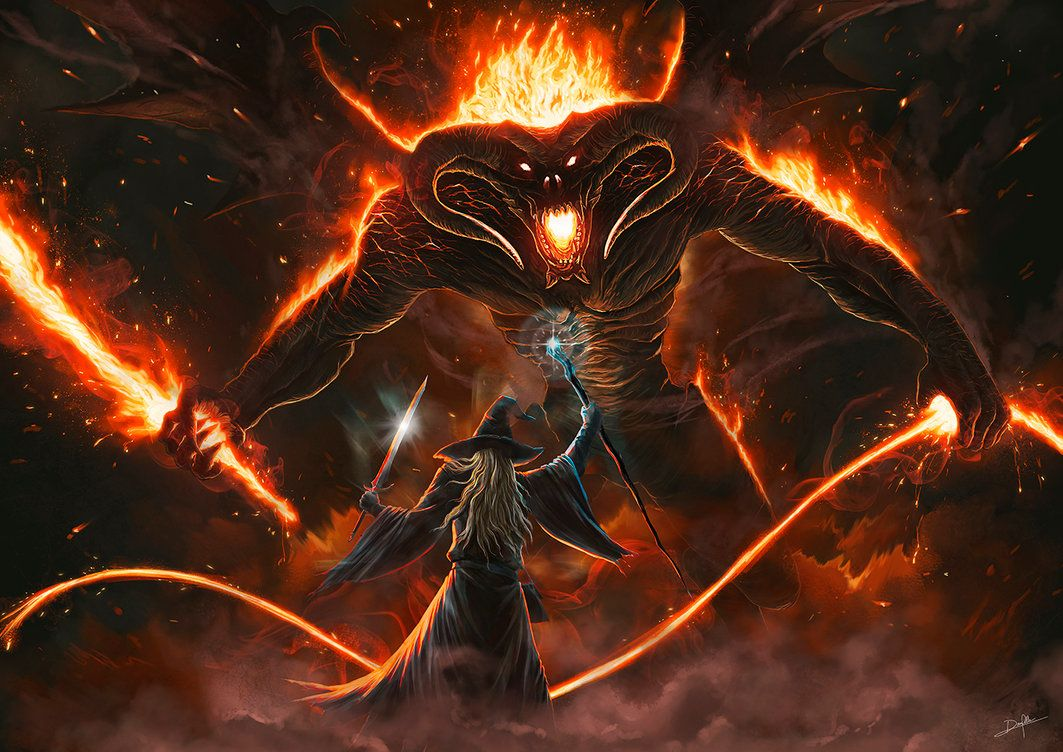 Pin By Jaky Ramirez On Lotr Art Inspiration Lord Of The Rings Balrog Lord Of The Rings Tattoo