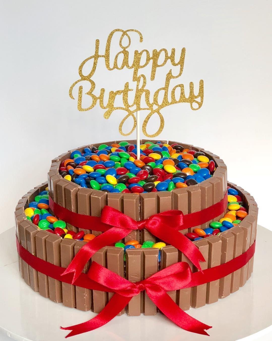 Kit Kat Cake Bolos De Aniversario Bolo Aniversario