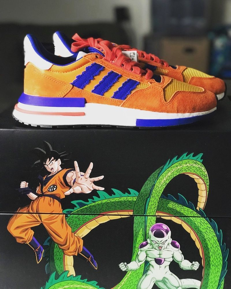3477891947365 Adidas Originals ZX 500 Dragon Ball Z Son Goku D97046 - IN HAND ...