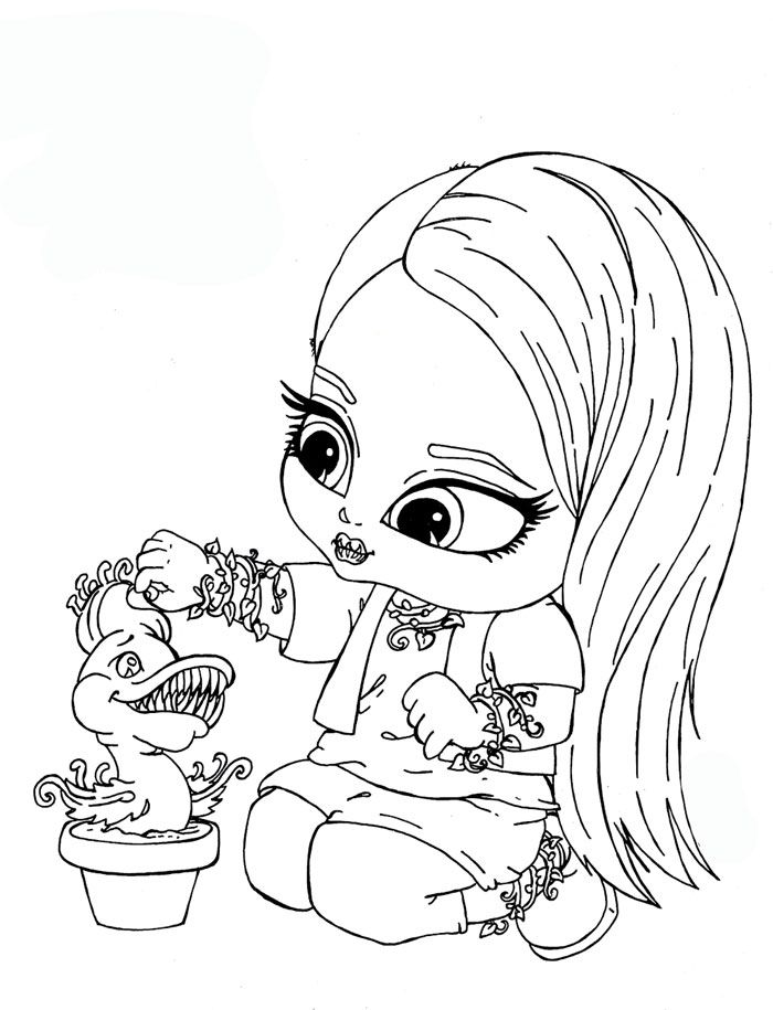monster high coloring pages to print | Monster High para Colorear ...