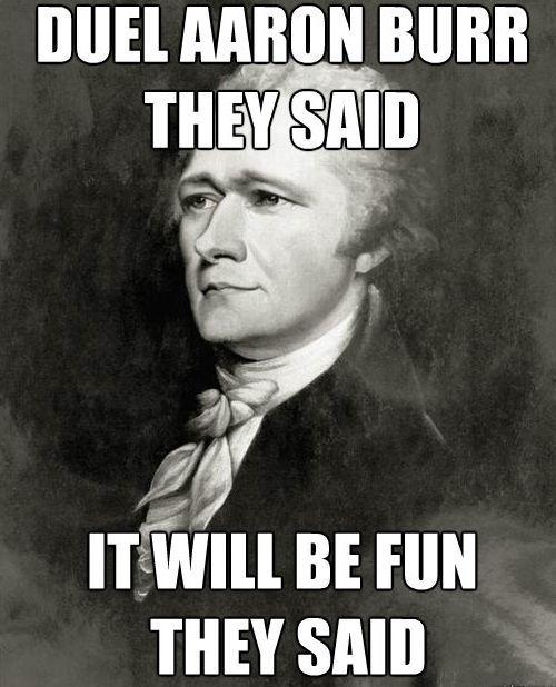 6 Exam Tips From Former Ap U S History Students History Jokes Hamilton Memes History Memes