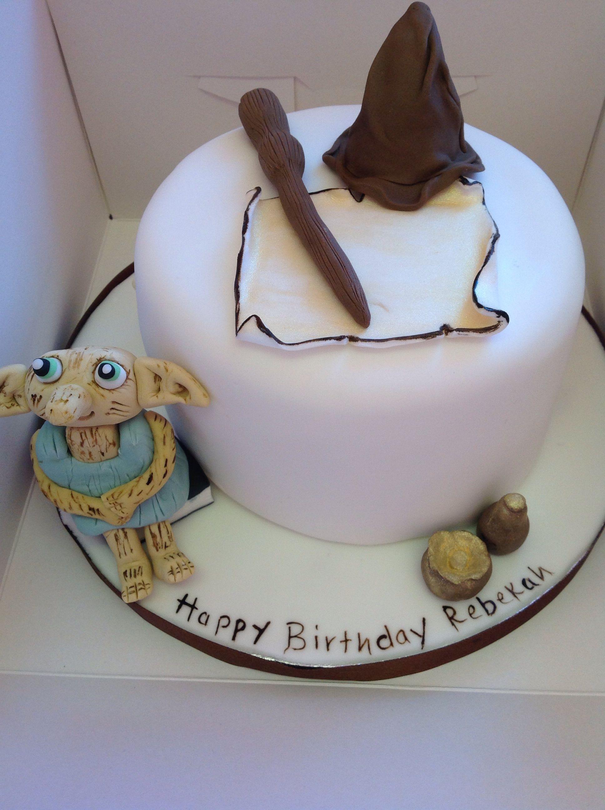 Harry Potter Birthday Cake I Love Dobbie Delicious Cakes