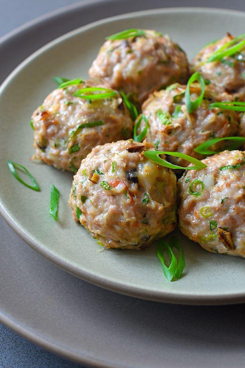 Wonton Meatballs   Recipe   Nom Nom Paleo\'s Whole30®   Pinterest ...
