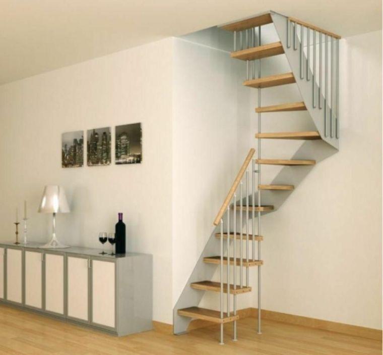 Escaleras modernas de estilo minimalista - menos es más - - escaleras modernas