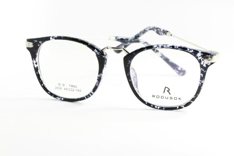 new fashion eyeglasses  RODUSOK High-End Eyeglass Glasses Frame Lovely Round White And ...