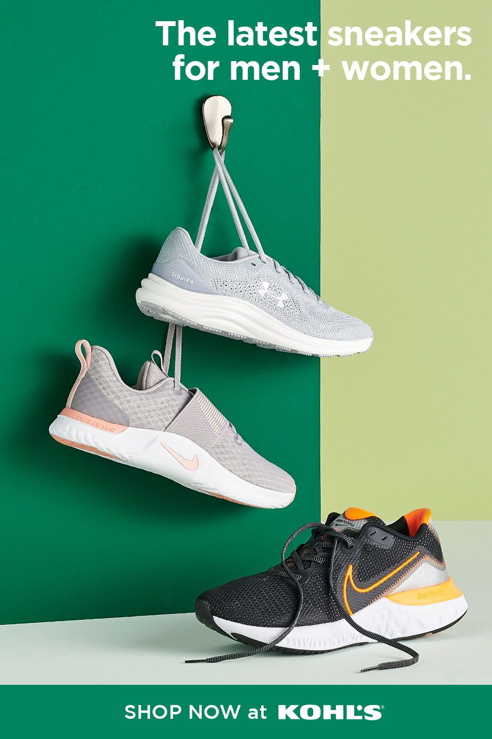 Find workout shoes for men and women at