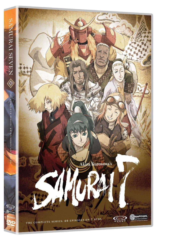 Samurai 7 Anime, Anime dvd, Samurai
