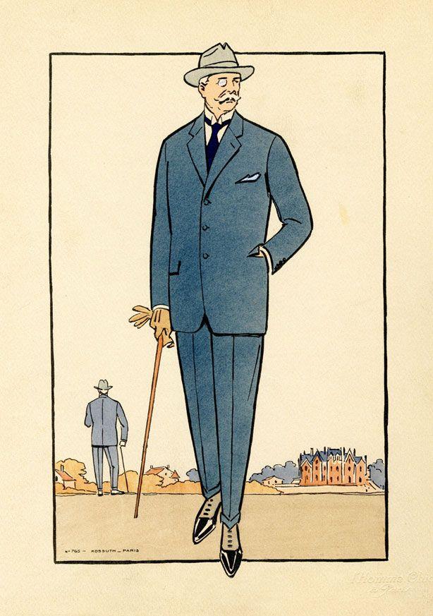 vintage fashion illustrations from the 1920s 20er jahre 20er und m nner. Black Bedroom Furniture Sets. Home Design Ideas