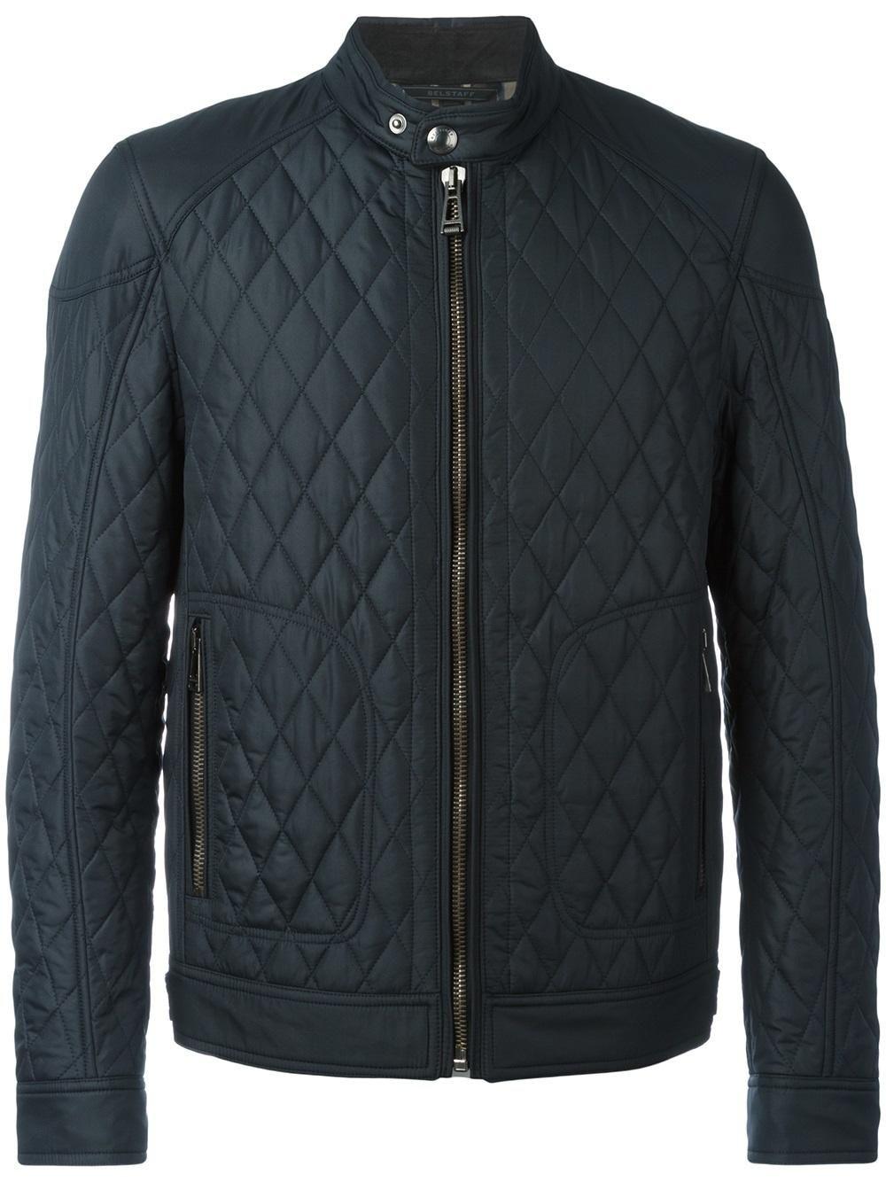 Belstaff Quilted Bomber Jacket Designer Jackets For Men Jackets Quilted Bomber Jacket [ 1334 x 1000 Pixel ]