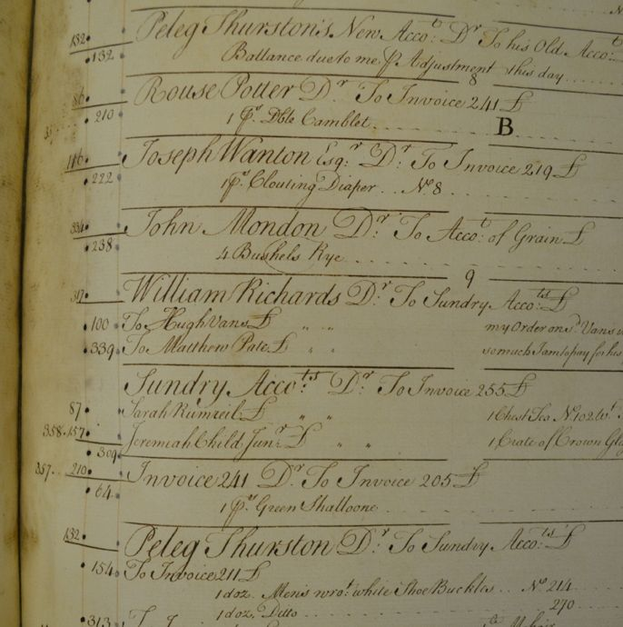 The John Banister Account Books