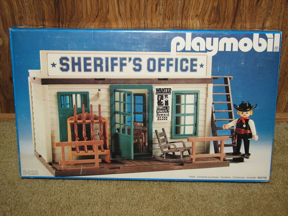 Playmobile Sheriff S Office