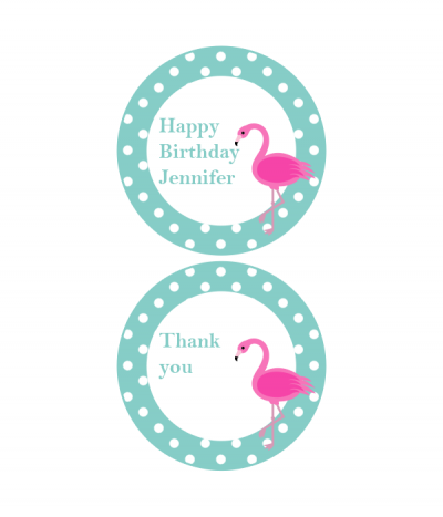 Free Printable Party Labels from @chicfetti