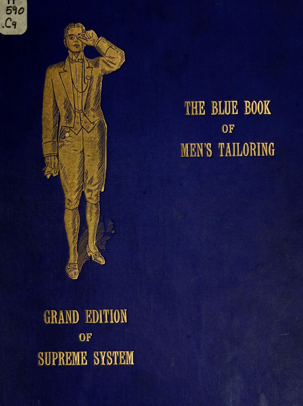 Grand Edition Of Supreme System For Producing Men S Garments Sewing Book Pattern Books Tailoring Techniques