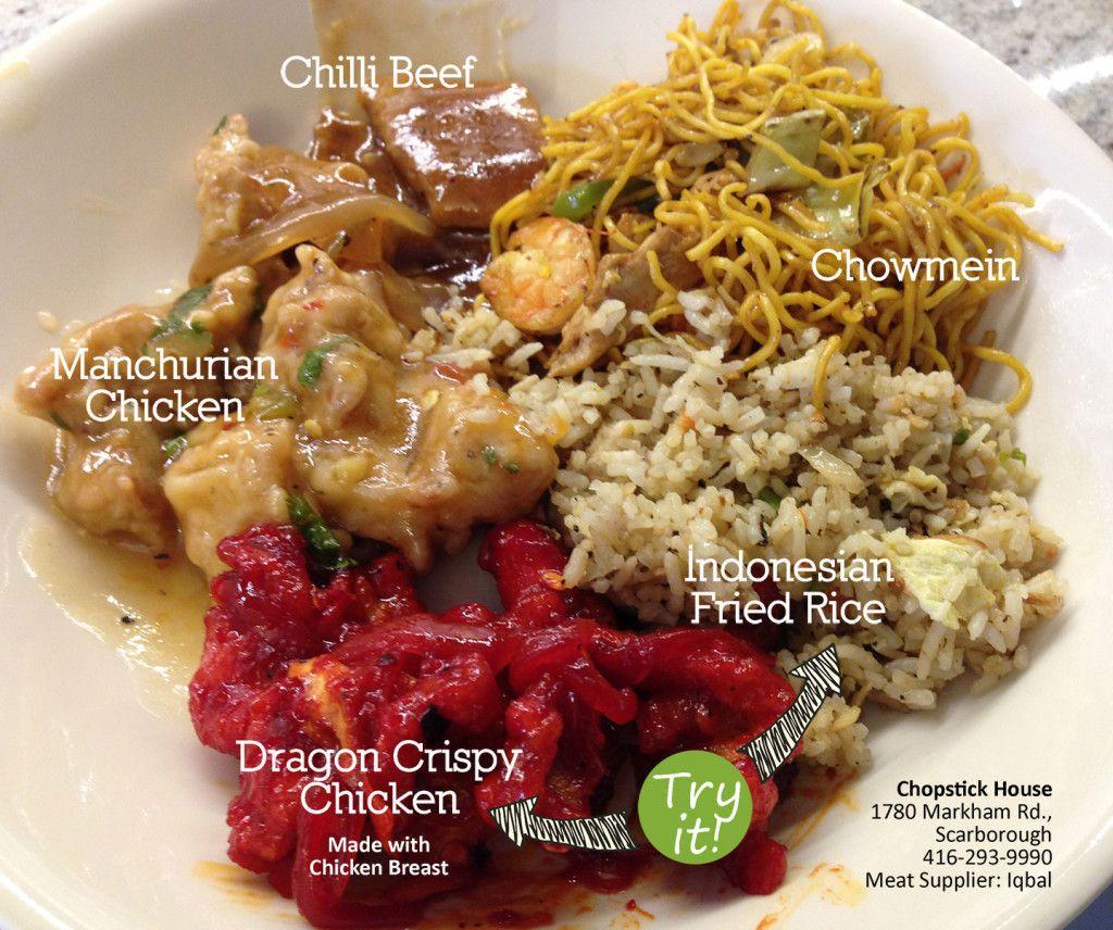 Chopstick House Hakka Chinese In Scarborough Halal Recipes Food Eat