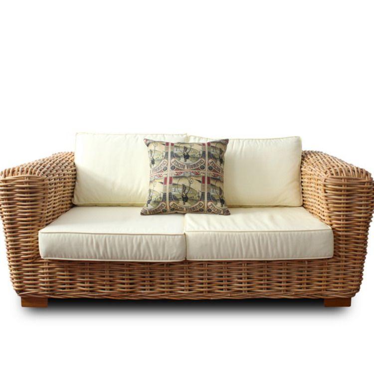 Balinese Sofa Set from Natural Rattan   Bali furniture ...