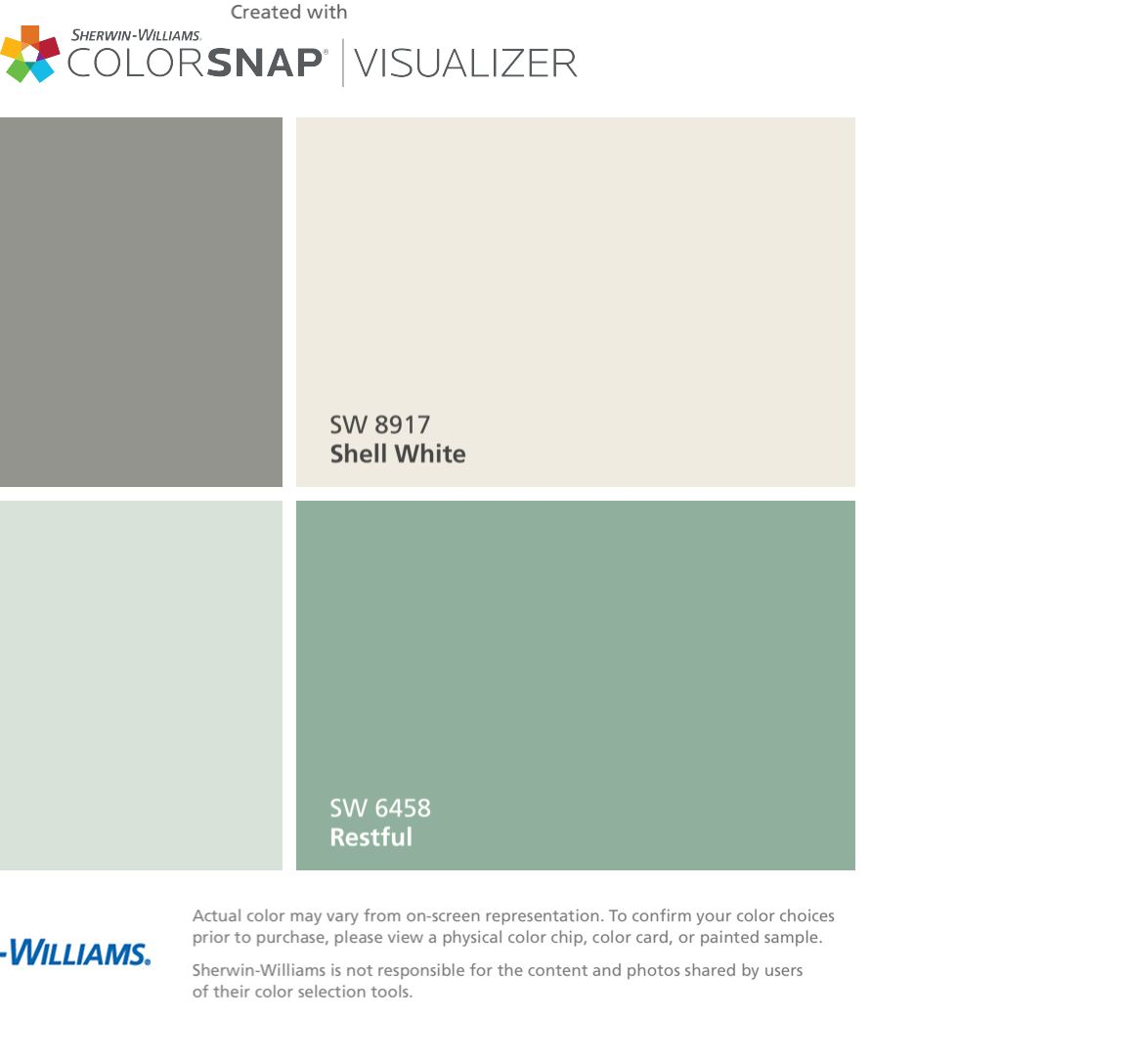 Colorsnap app for Sherwin williams exterior paint color visualizer