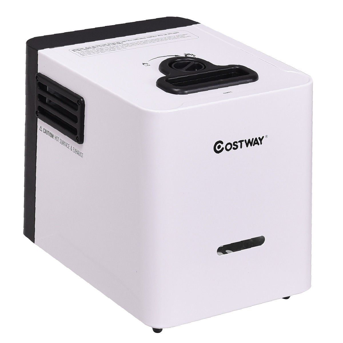 Costway Propane Gas Portable Instant Hot Water Heater Battery ...