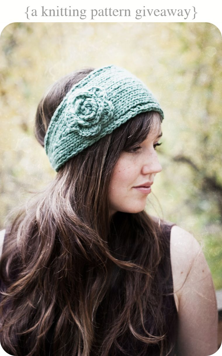 Trying to find a good head wrap/ear warmer pattern. | Attire | Pinterest