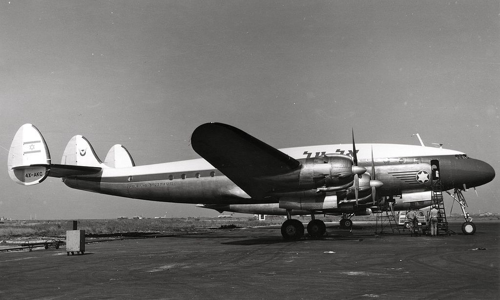 [c/n 1968] [may45-1955] [C69/L049] Lockheed Constellation [4X-AKC] [El Al Israel Airlines] [1949] [apr51]