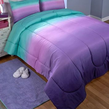 Pin On Future House, Teal And Purple Ombre Bedding