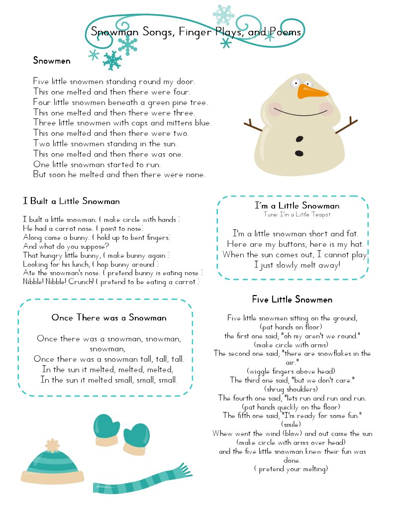Workbooks home ec worksheets : Mrs Home Ec: Snowman Preschool Lesson....very cute | Children ...