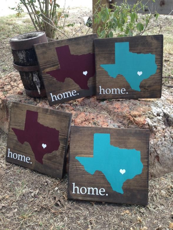 Home State Signs The Rustic Acre College Station TX Custom