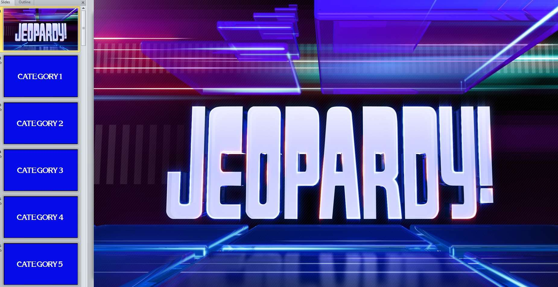 11 Best Free Jeopardy Templates For The Classroom Regarding