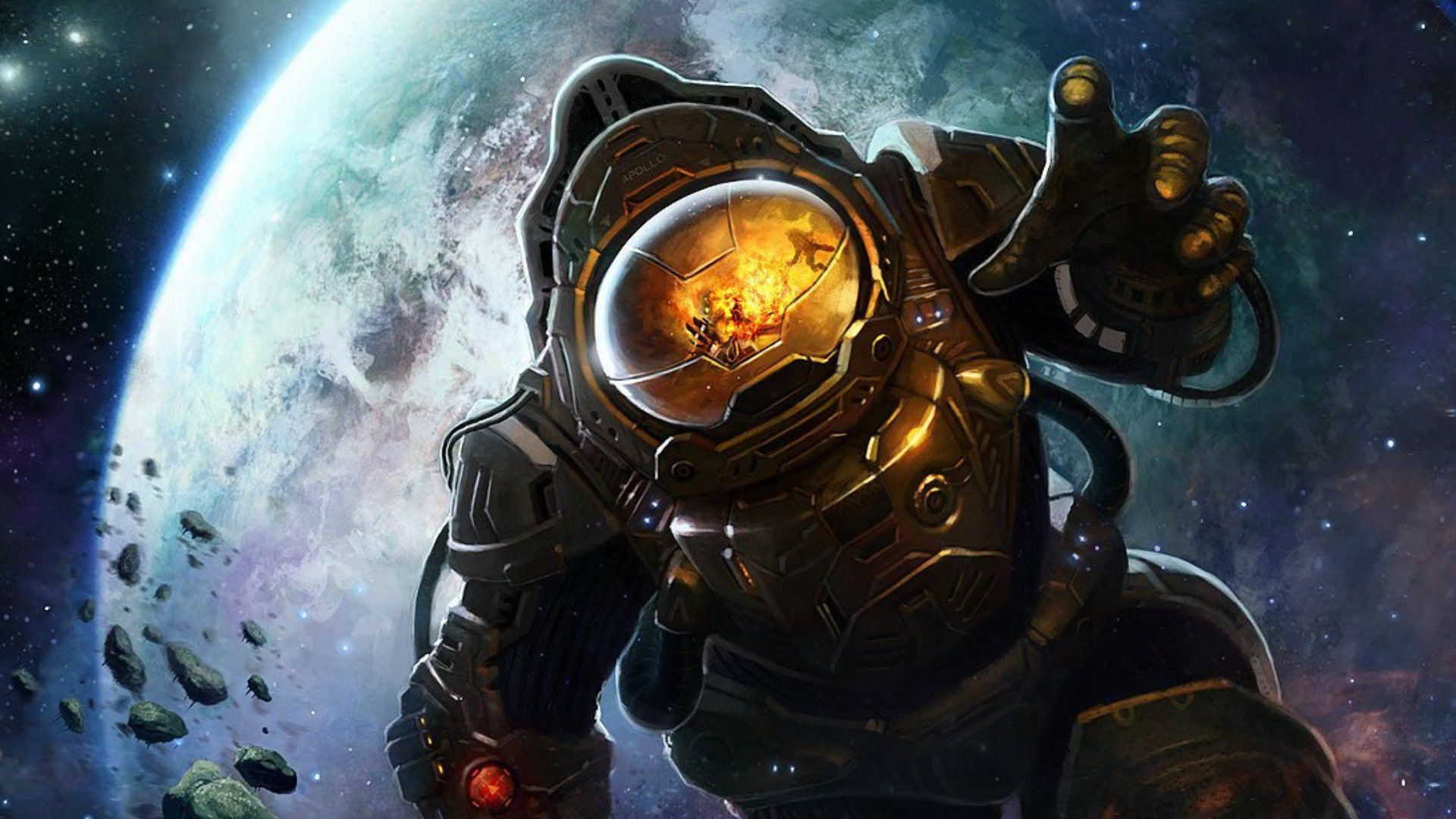 Ciencia Ficción Astronauta Fondo de Pantalla Espacios