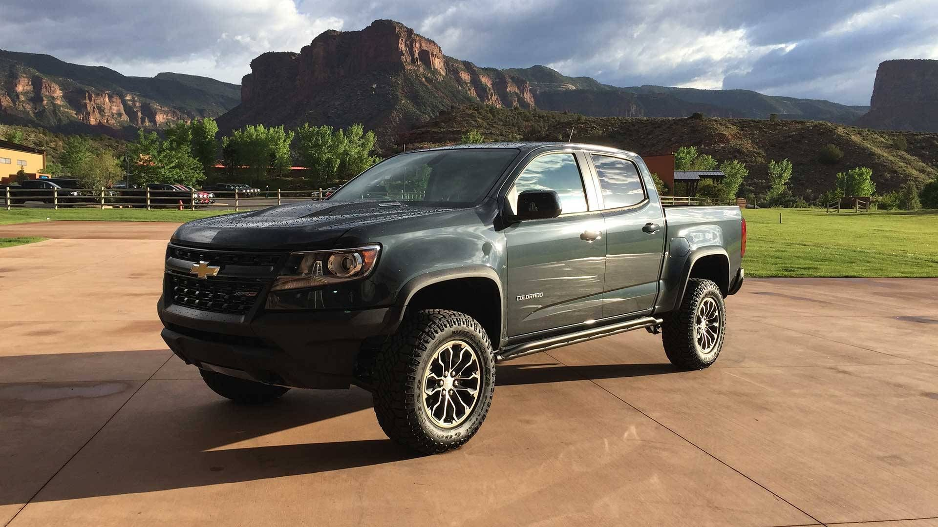 2017 Chevrolet Colorado Zr2 Review Finally A Right Sized Off Road Pickup Truck Warrior Chevrolet Colorado Chevy Colorado Chevrolet