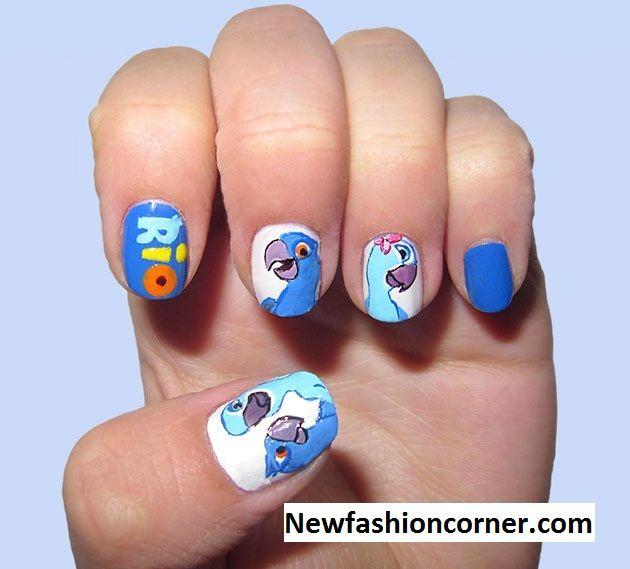 Rio Nail Art Design Nail Art Pinterest