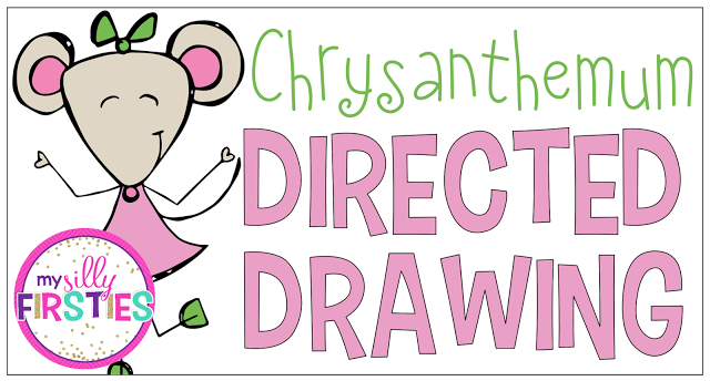 Chrysanthemum Directed Drawing (My Silly Firsties)