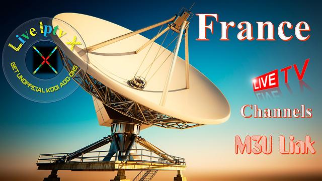 Kodi France M3U Link Iptv France Channels Links Server