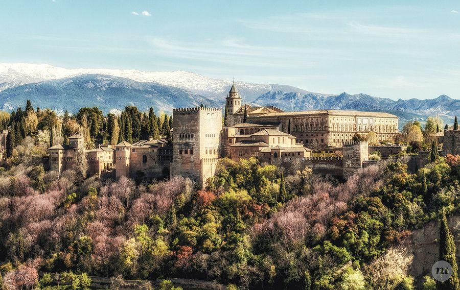 La Alhambra, Granada - Spain by Manuel Rodriguez on 500px