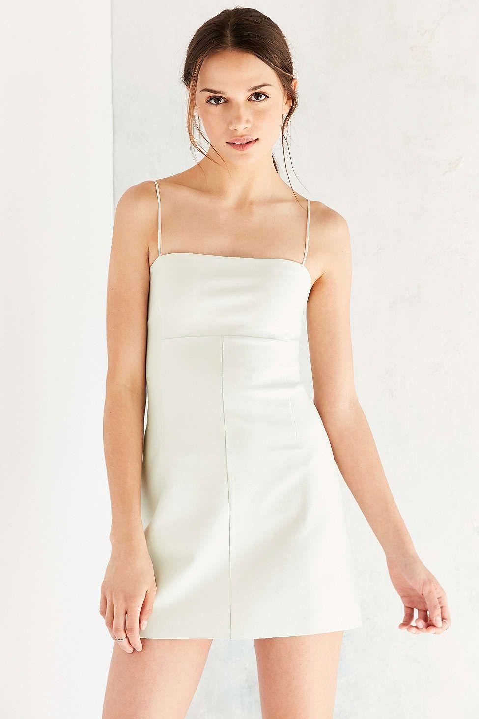 fa33c5c6076 Silence + Noise Audrey Ponte A-Line Mini Dress - Urban Outfitters ...