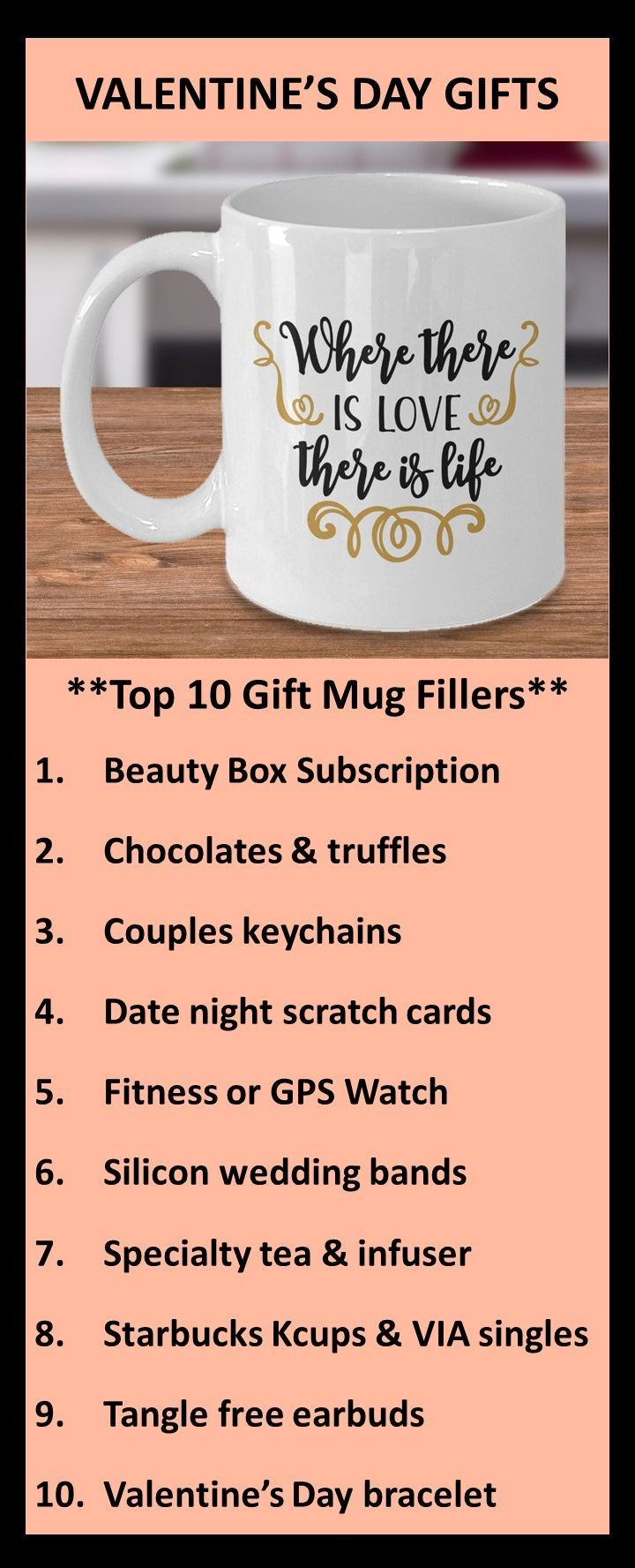 Valentine s Day Gifts Where There Is Love There Is Life Birthday Christmas Gift Mug Coffee 038 Tea Valentine s Day Gifts Where There Is Love There Is Life Birthday Christ...