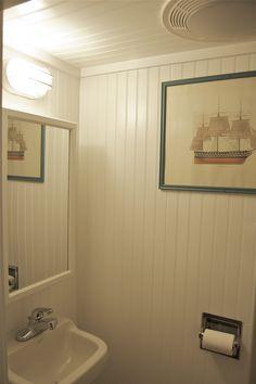 Floor To Ceiling Beadboard In Bathroom Google Search
