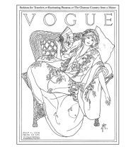 Vogue Colors A To Z A Fashion Coloring Book Paperback Fashion Coloring Book Coloring Books Colorful Fashion