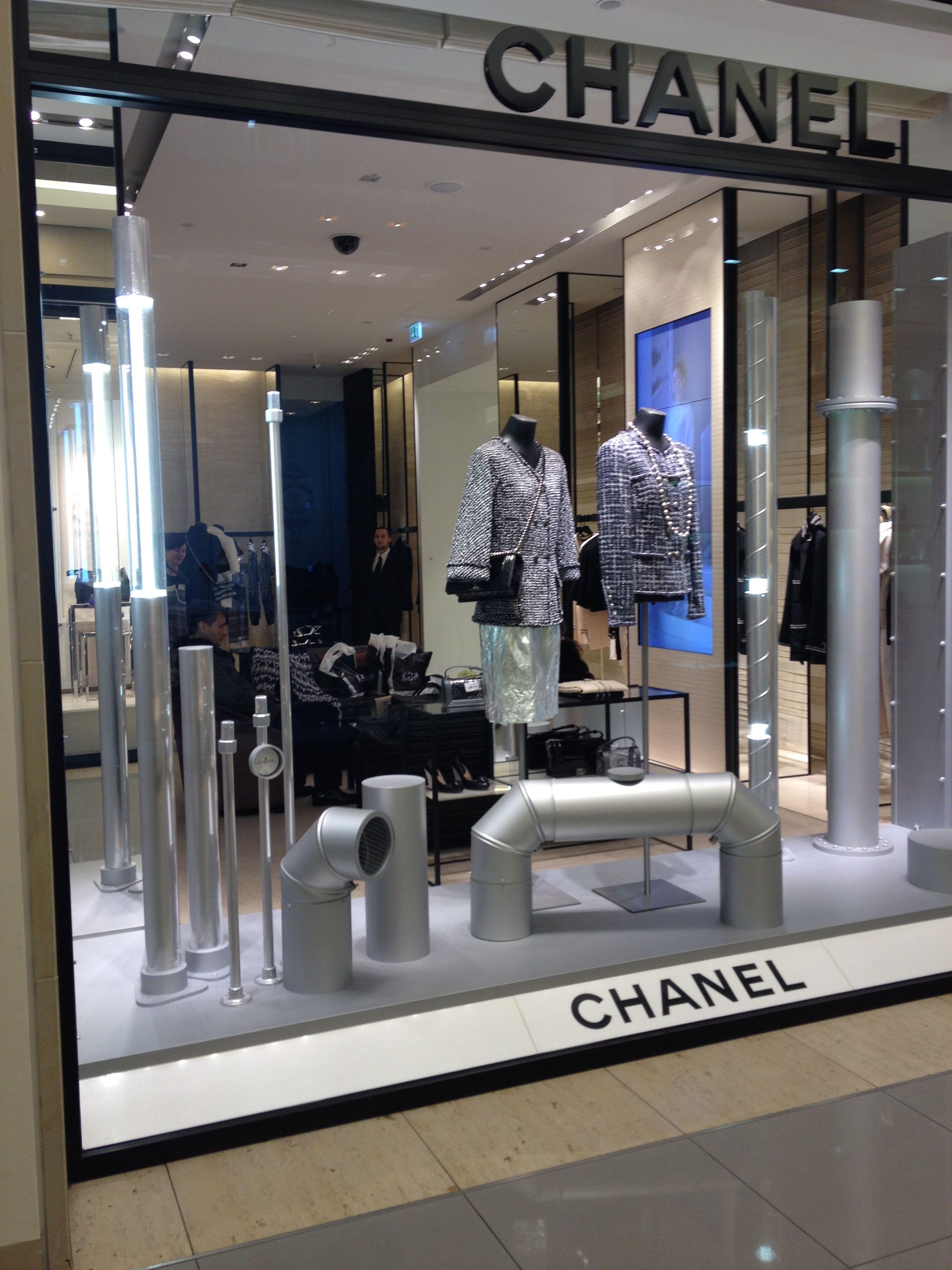 Chanel Berlin kadewe department store berlin 2014 chanel concession visual