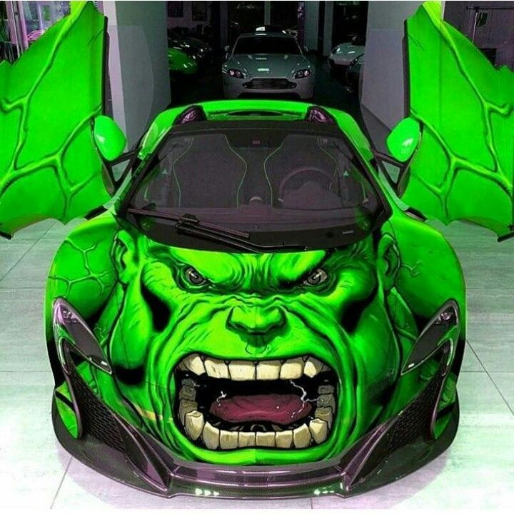 That's One Hulk Of A Car
