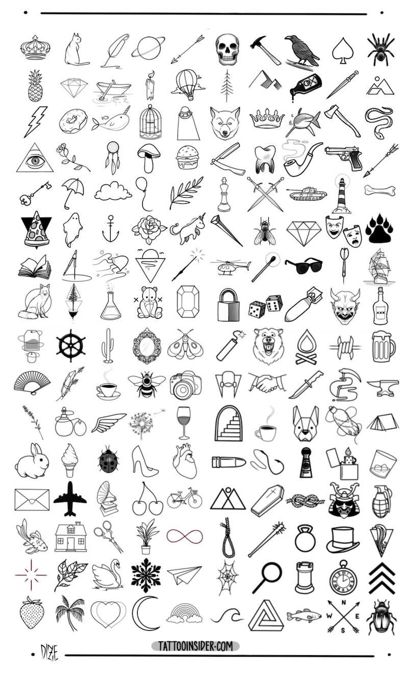 160 Original Small Tattoo Designs – Tattoo Insider