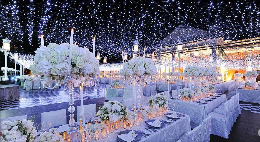 Stunning wedding reception room designed by Preston Bailey. I LOVE ...