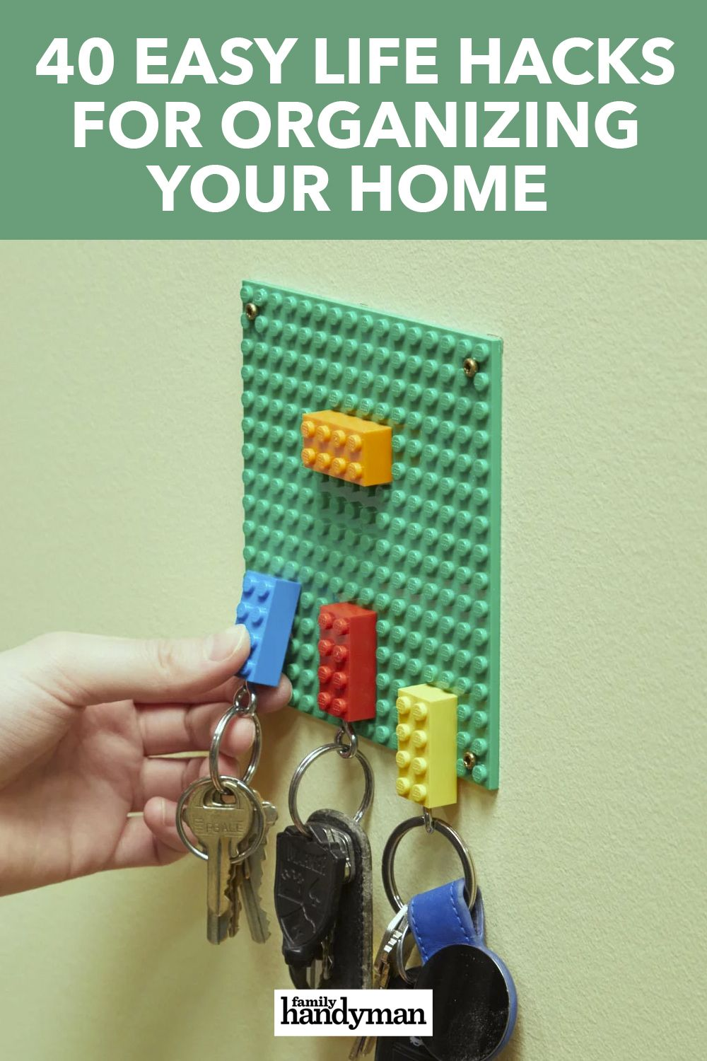 40 Easy Life Hacks For Organizing Your Home Organizing Your Home Simple Life Hacks Organization