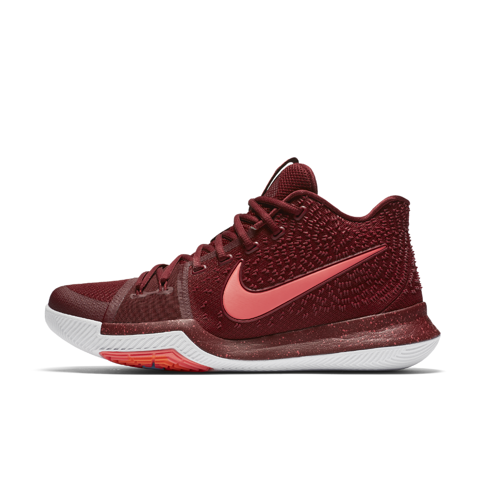 Nike Kyrie 3 Men's Basketball Shoe Size 10.5 (Red) - Clearance Sale