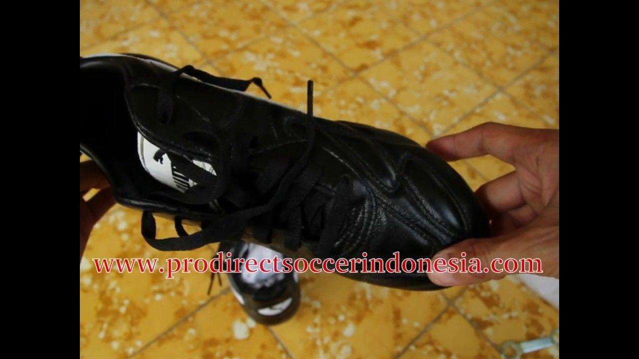 Sepatu Bola Puma King Pro Sg Black White Team Gold 170114 01