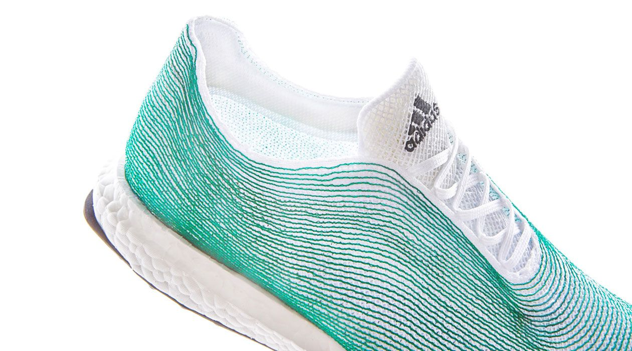 Adidas Partners with Conservationists to Create Shoes Made out of Ocean  Trash - My Modern Met