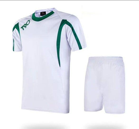 bde5cde61 Soccer Jerseys Cheap-T90 White Training Blank Uniform  3155