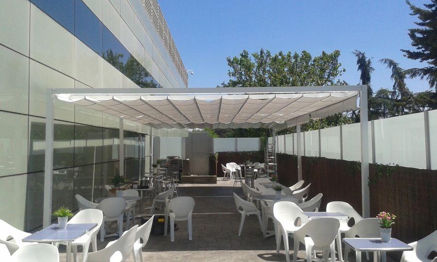 Terraza Edificio Telefonica Aravaca Para El Grupo Delina S